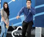 Salman Khan with Isabel Kaif