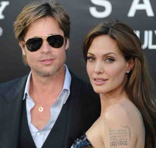 Angelina, Brad Pitt get married