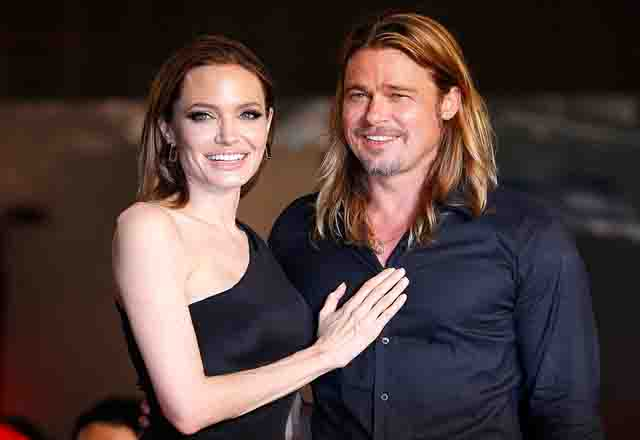 Brad Pitt and Angelina are officially Mr & Mrs