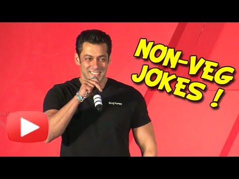 Salman Khan cracks non-veg jokes