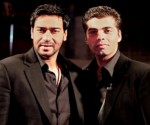 Ajay Devgn with Karan Johar