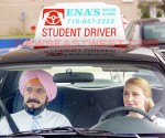 Ben Kingsley as a Sikh driving instructor In Learning to Drive. Actress Patricia Clarkson plays of the role of recently divorced book editor Wendy.