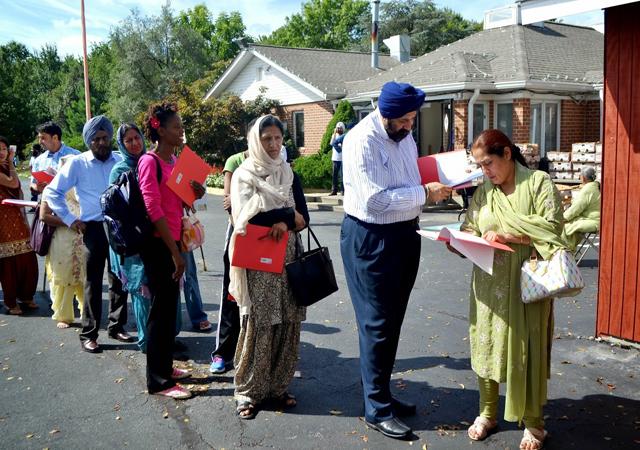 Health fair by Guru Nank Foundation of America