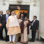Modi at Indian embassy in Washington on sept 30