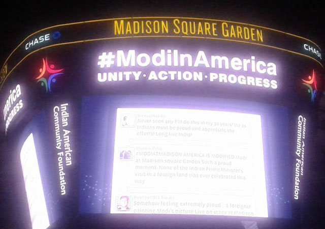 5 highlights of Narendra Modi's speech at Madison Square Garden