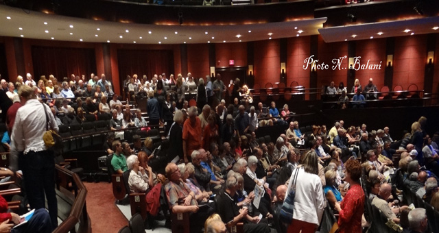 Audience at Rose Theatre