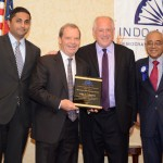 VIPs at the 35th annual banquet and fundraiser of the Indo-American Democratic Organization