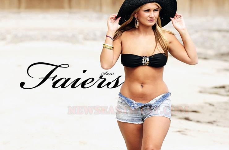 Glamour model Sam Faiers
