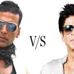 Akshay vs Shah Rukh Khan