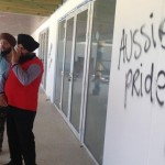 Australian Sikh temple defaced