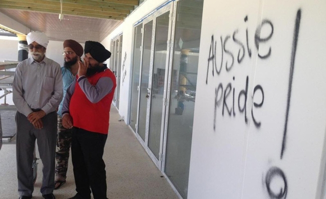 Sikh temple in Australia defaced with anti-Muslim graffiti