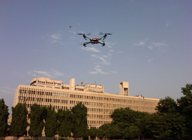 IIT Delhi students want to use drone to film their annual festival, but bureacrats are scared