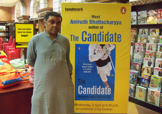 New Indo-Canadian author Anirudh Bhattacharyya to speak about his novel The Candidate at Toronto book fair