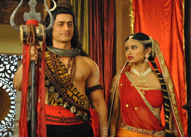 Mohit & Mouni in serial