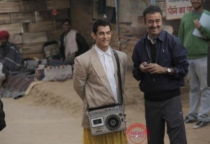 aamir khan (left) with hirani