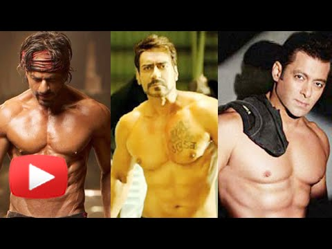 Ajay Devgn takes Shah Rukh Khan for flaunting 8 pack abs