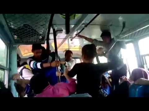 Amazing video of two sisters thrashing their molesters on bus in Haryana