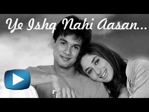 Love story of Kareena Kapoor and Shahid Kapoor