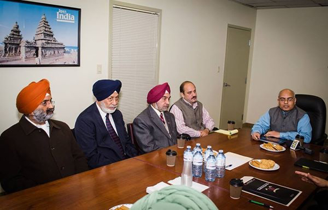 Ontario Sikh leaders give memo to Indian consul general about fasting Bhai Gurbaksh Singh