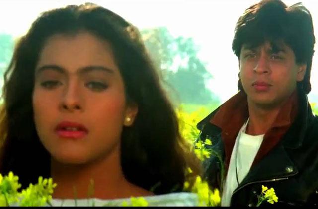 Kajol, Shah Rukh in Dilwale Dulhaniya