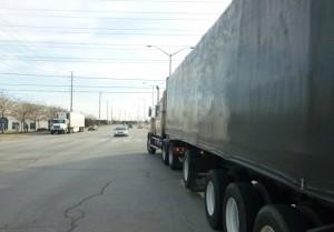 Truck in Ontario