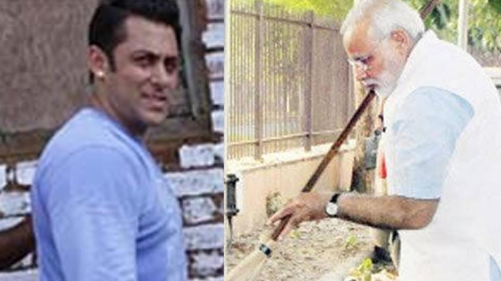 Narendra Modi praises Salman Khan