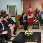 Chris Alexander with Prime Minister Narendra Modi
