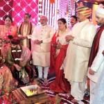 modi at wedding of sonakshi's brother