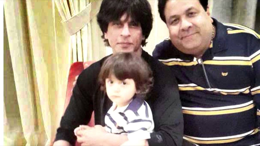 Shah Rukh rings in New Year with son AbRam