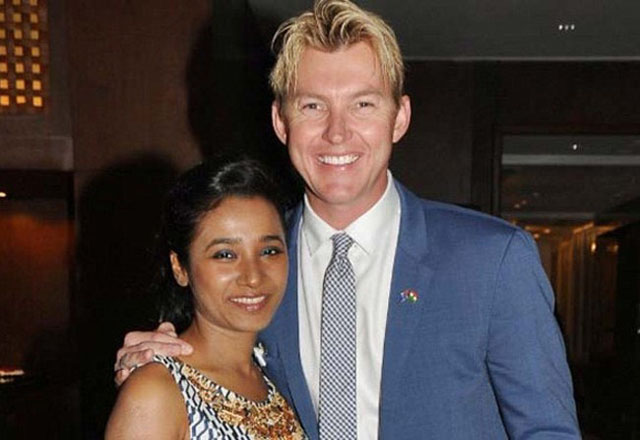 Indian actress Tannishtha Chatterjee has gone truly global as she does her latest rom-com with Brett Lee