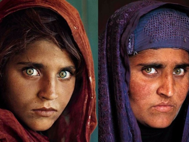 Afghan refugee girl made world famous by National Geographic photo in 1985 living under fake Pakistani ID in Peshawar
