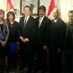Jason Kenney with Indo-Canadian leaders