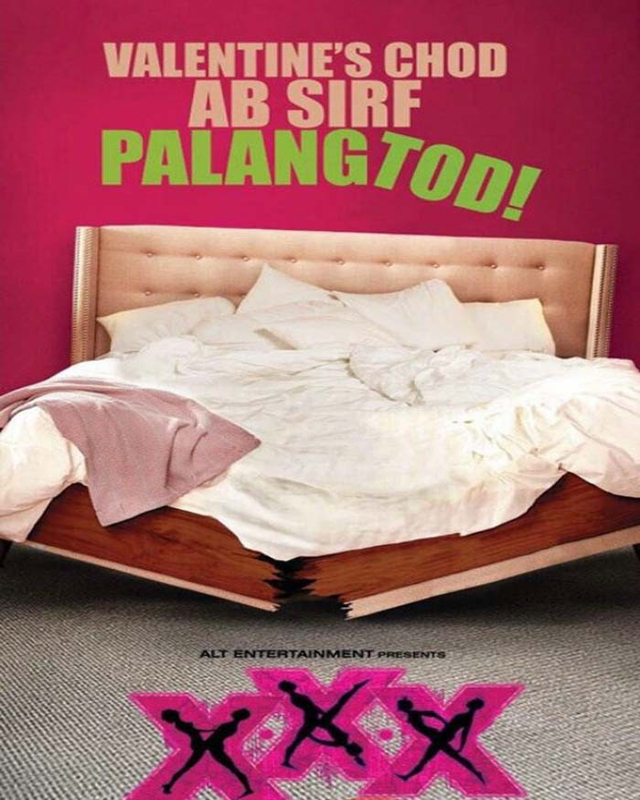 Poster of Ekta Kapoor's film XXX