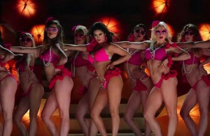 Sunny Leone in pink bikini in Ek Paheli-Leela