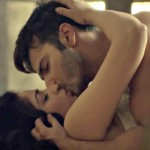 Varun Dhawan, Yami kissing in Badlapur