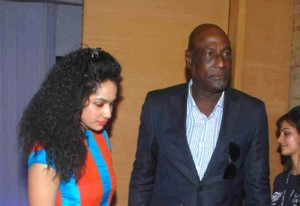 Neena Gupta's daughter Masaba with her dad Viv Richards