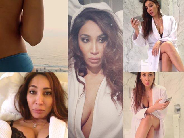 Sofia Hayat taking off her bra goes viral