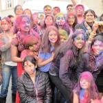 Indian Americans play Holi in Washington