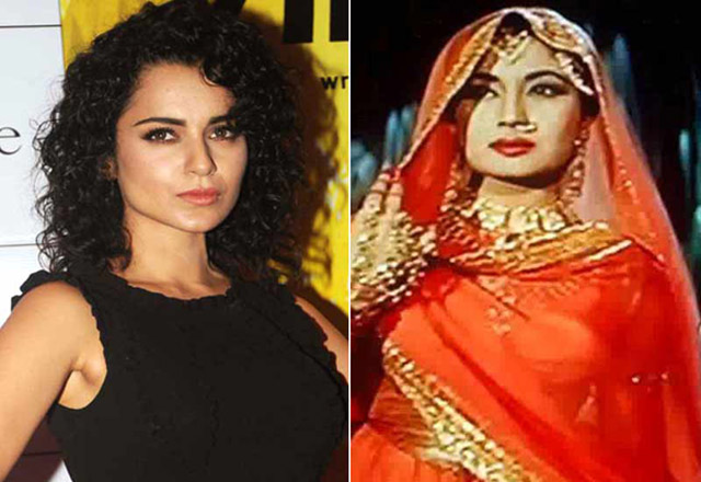 Kangana has the seductive voice of Meena Kumari