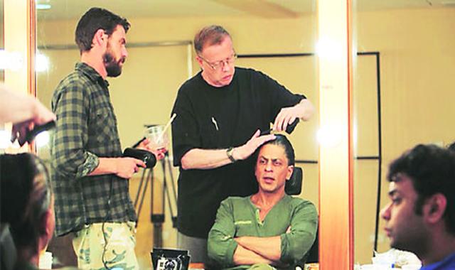 Brad Pitt's makeup man to new look to Shah Rukh Khan in Fan