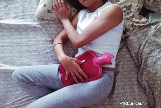 Instagram restores menstrual blood showing photo by Waterloo university Sikh student Rupi Kaur