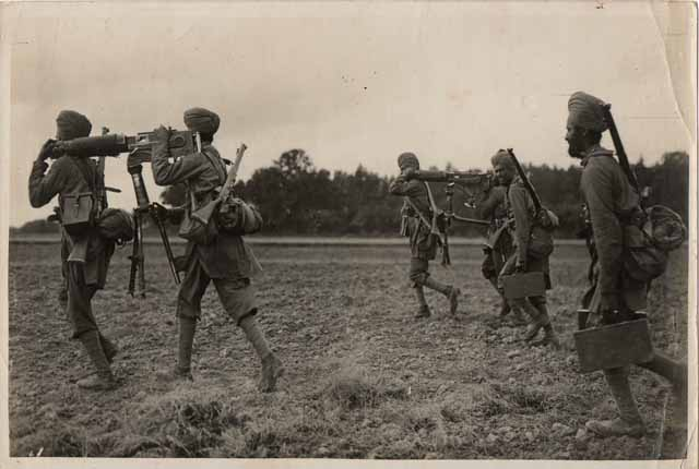 Sikh soldiers in world war