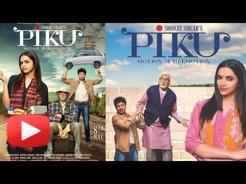 Piku poster shows tuning between Deepika and Irrfan Khan