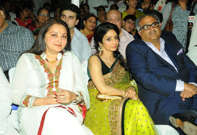 Sridevi and Jaya Prada end 25-year cold war at Amar Singh's party