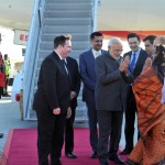 Modi gets welcome in Ottawa
