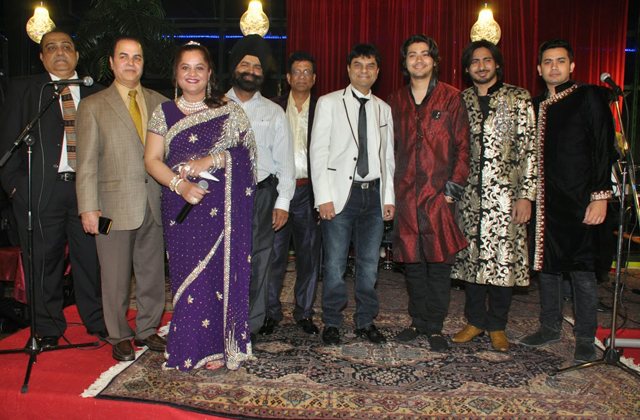 FIA Group Members, Hitesh Gandhi, Ali Khan, Mona Bhalla, Onkar Sangha, Moon Khan, Sunil Shah and the Raga Boyz