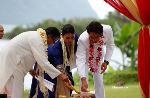 Tulsi Gabbard wedding ceremony