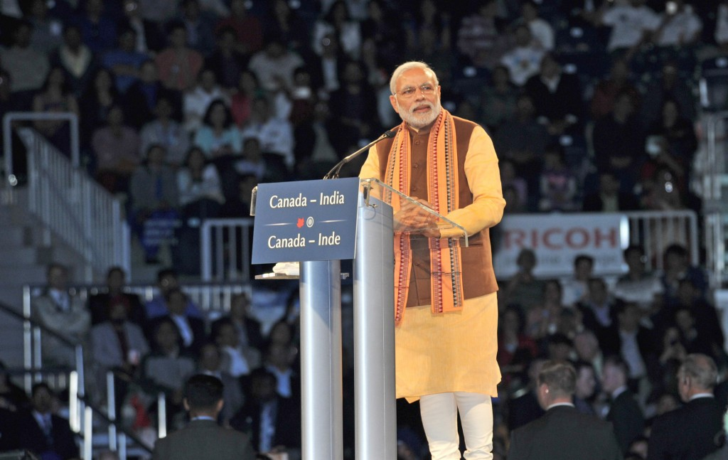IN PICS: When Modi came to Canada