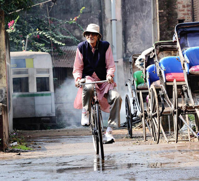 Amitabh in Piku