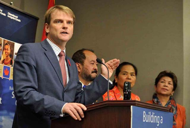 Canadian immigration minister Chris Alexander